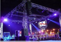 dj stand, lighted dance floor,stage events for sale