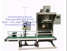 Z595 Hot Sale 5kg--50kg Automatic powder filling Machine with Weighing and Conveyor Belt Sewing Machine
