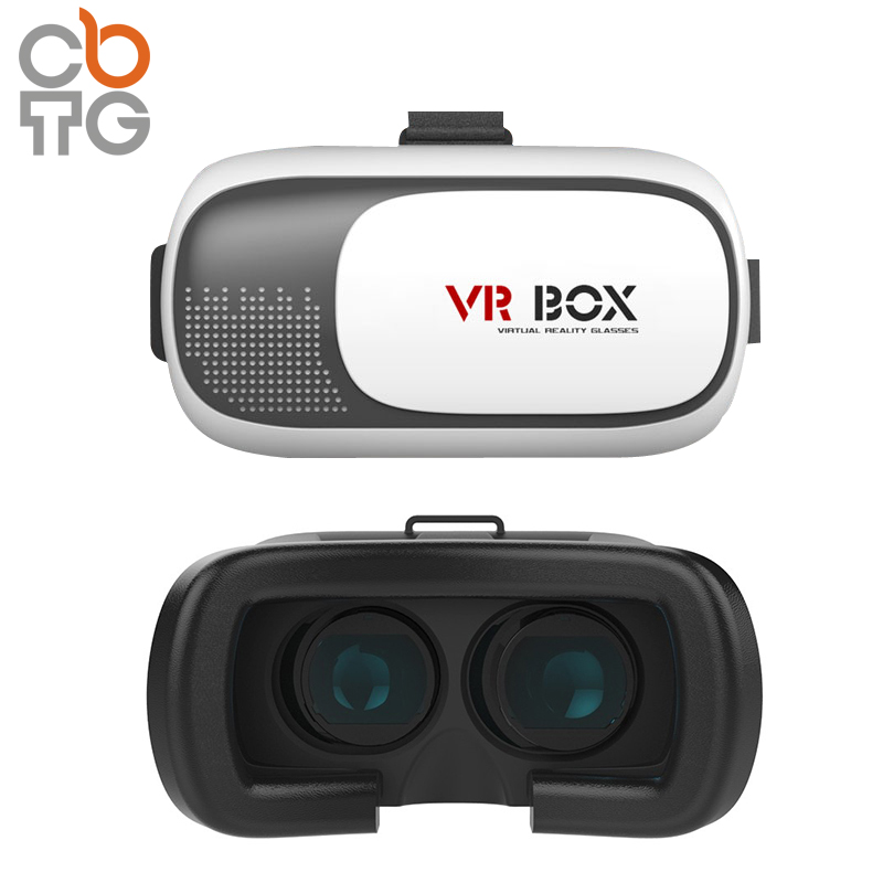 High Tech 2016 Google Cardboard V2 Virtual Reality Oculus Gear VR Headset Glass 2nd Generation 3D VR Box With Remote Controls