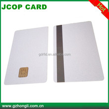 high security jcop21 36k java card new model J2A040 chip cards
