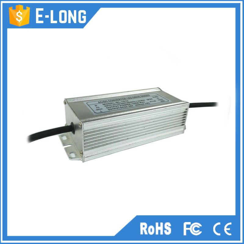 Led driver ac/dc 24v-38v 3000mA 100w rainproof power supply adapter