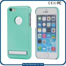 Handset Casing Shockproof Hard PC Kickstand Cell Phone Cover Case for iPhone 5C
