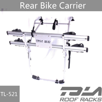 Bicycle Rack Trunk Hatchback Rear Mount Carrier 2 Bike Cars Wagon Sport Cycling