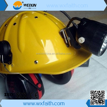 hot sale (BSM2) miner personal protective Helmet mining hard hat with lamp