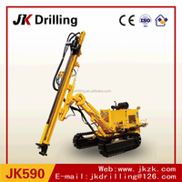 JK590C/590 Manufacturer 50m Depth high quality Crawler Hydraulic down to hole Drilling Rig