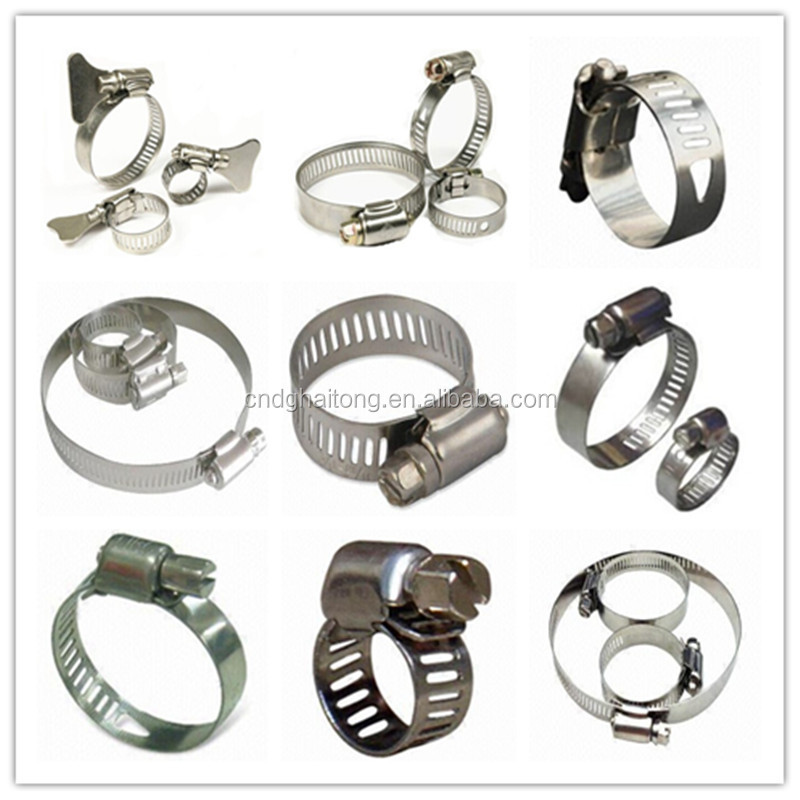 Hose clamps types gallery