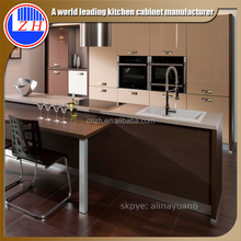 High gloss modern MDF imported rta kitchen cabinet