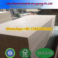 IICL 28mm container flooring plywood panels kruing 116x240cm