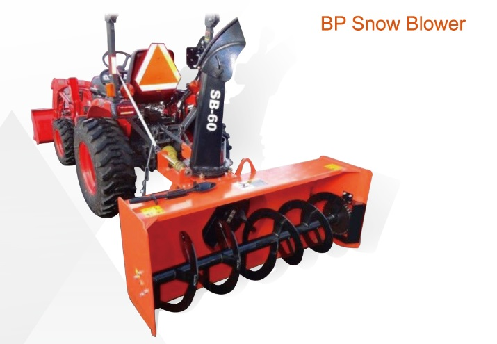 Tractor 3 point hitch BP PTO snow blower