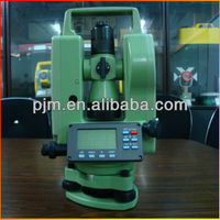 2013 HOT SELLING LASER LINE DIGITAL theodolite surveying instrument PJK DE2A theodolite total station