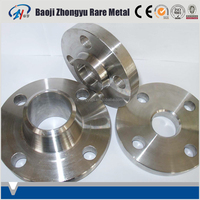 ASTM B381 Gr12 Titanium plate flange for petrochemical