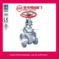 150LB Flanged Stainless Steel Gate Valves 6 Inch Water Gate Valves
