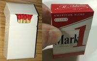 Advertising matches solutions for cigarette