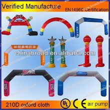 HOT-selling durable and nice inflatable entrance arch/inflatable sports arch/inflatable birthday arch