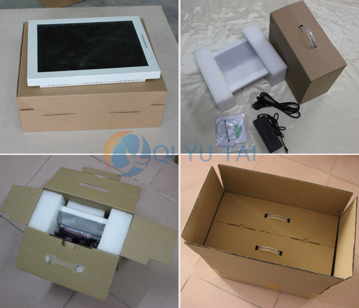 15 inch Outdoor Kiosk LCD Waterproof touch screen monitor