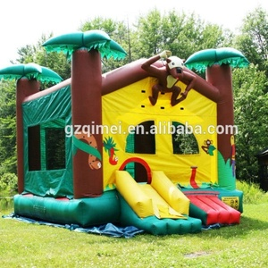 customized children play commercial monkey small air inflatable bounce with factory price