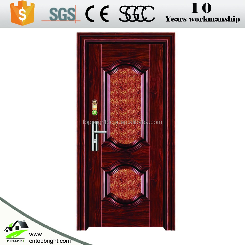 2017 new product solid strong security steel entrance door