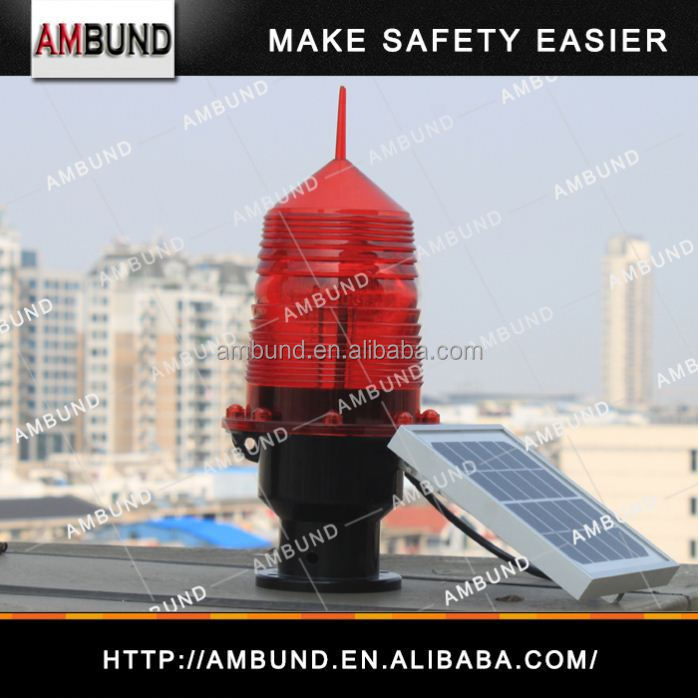 Best price solar rechargeable lantern of safety light and obstruction light manufactured by professional LED light factory