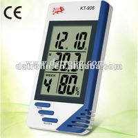 KT906 digital lcd desk clock automatic clock