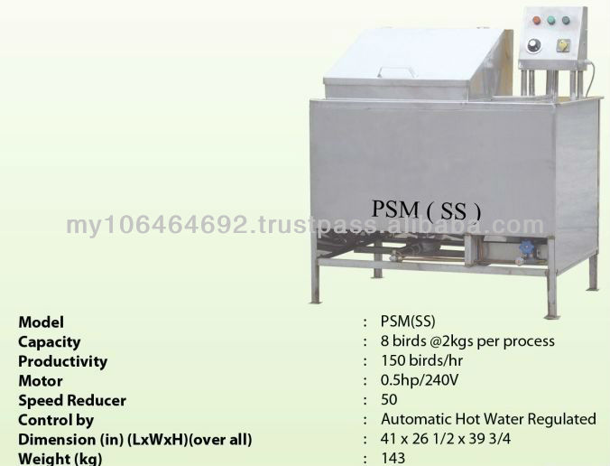 Poultry Scalding Machine (SS)