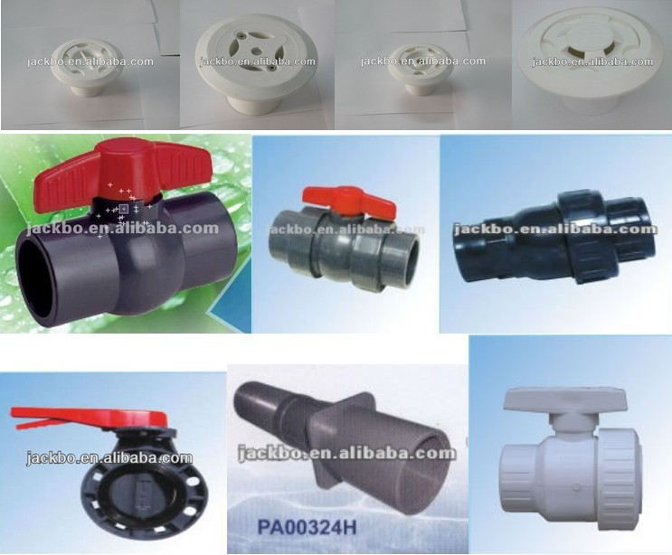 Most professional pvc plastic ball water switch valve for Plastic water valve types