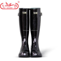 sexy girls waterproof horse riding boots