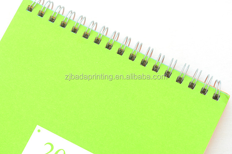 Promotional Desk Calendar Printing/Wholeale Custom Table Calendar