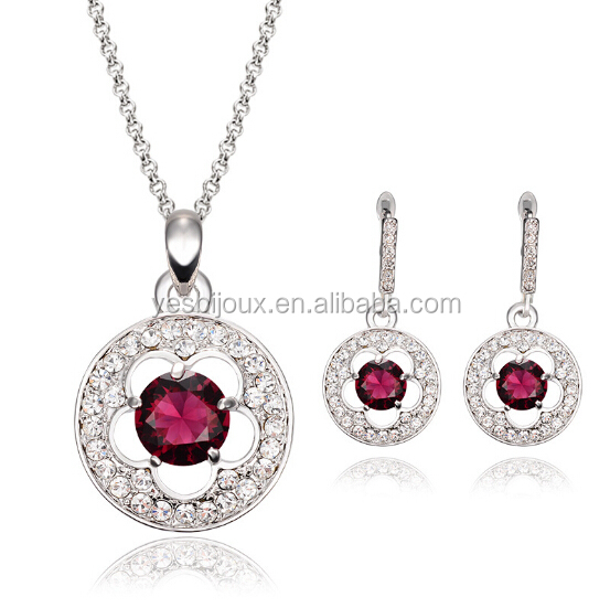 cheap wholesale austria crystal bisuteria jewelry <strong>sets</strong>