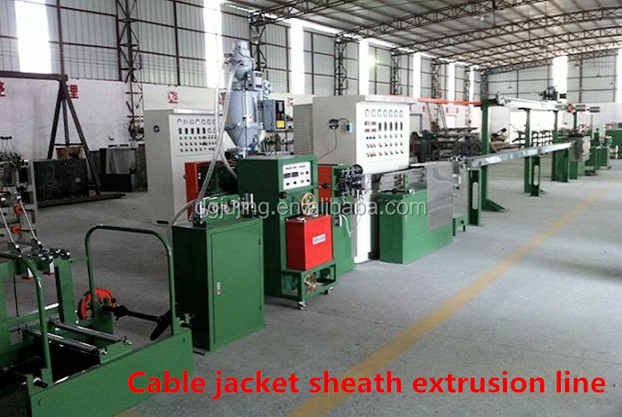 Cable Jacket Sheath Production line Cable extrusion machine