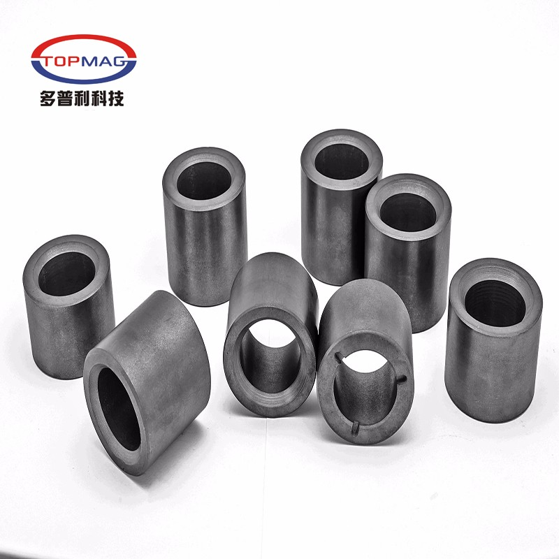 Tile shaped Ferrite permanent sintered magnets