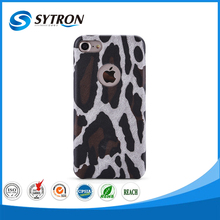 Fancy Leopard Pattern Leather Cover Case,New Arrivals PC Case for iphone 6