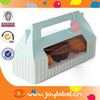 Professional customized paper clear bakery boxes