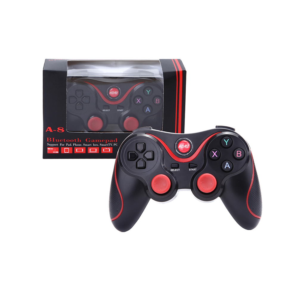 Cheap wireless game controller bluetooth joystick vibration gamepad driver