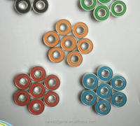 wholesale fashion top quality 608 bearing fidget spinner hand spinner bob-weight gyro colorful balance weight