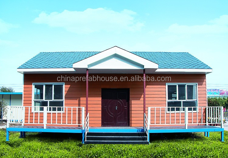 Light Steel Structure Prefabricated House Villa For Sale