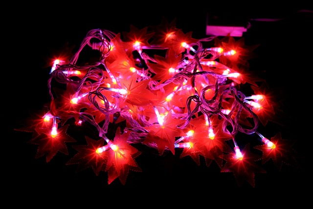 Ramadan decoration light led string light with star and moon
