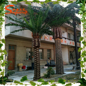 good quality artificial date palm tree for outdoor landscape decoration