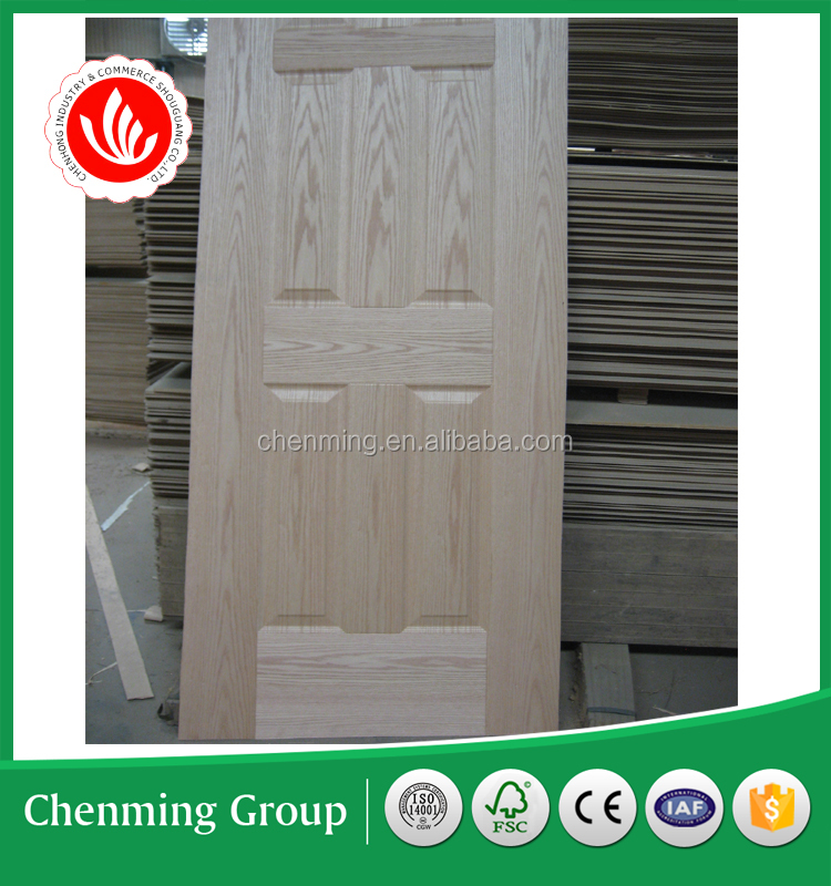 natural ash/teak/oak HDF veneer door skin