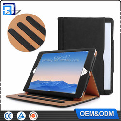 Pu Leather Stand Tan Tab Case Cover For Apple iPad Pro 9.7 inch with Multiple Viewing auto Sleep Wake