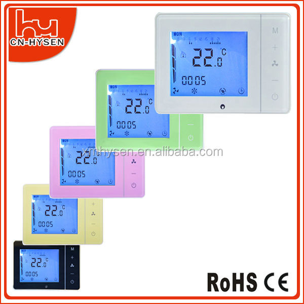 Intelligent Touch Screen HVAC Digital Room Thermostat