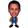 Custom made miniature people figurines bobblehead toys/factory price bobble head figurines/nba star action figures toys