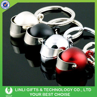 Good quality mini motorcycle helmet keyring