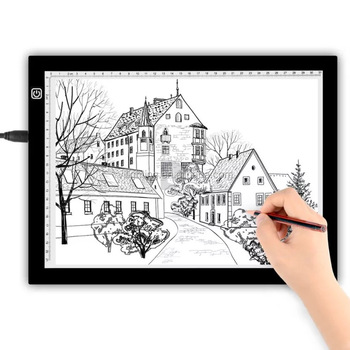 Super thin acryliy Tracing board for writing and drawing