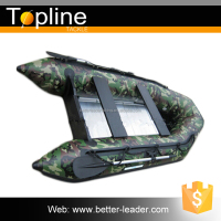 CAMO pattern Commercial Inflatable Yacht Fishing Boat