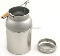 hot sale stainless steel milk cans for sale