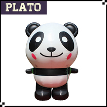 high quality giant inflatable panda for outdoor decoration