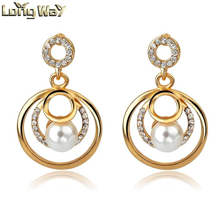 Fresh Best Gold Earring Design | Jewellry\'s Website