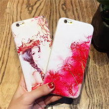 2016 Mobile Phone Accessories for iPhone 7 TPU Case Ultrathin IMD Printing Tpu Case for iPhone 7