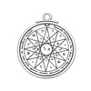 Magnetic Fashion Wholeasale Pentacle Pagan Pendant Wiccan Talisman Pendant