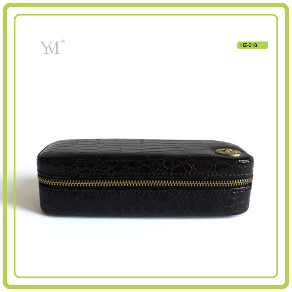 2017 new products luxury hottst selling OEM customized design top quality pvc leather case makeup vanity box cosmetic case